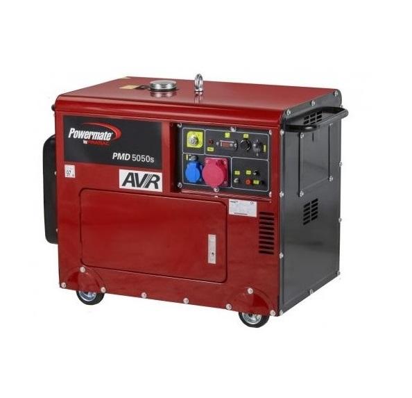 Дизельный генератор (электростанция) Pramac PMD5050s, 400/230V, 50Hz, #AVR,  Battery EC