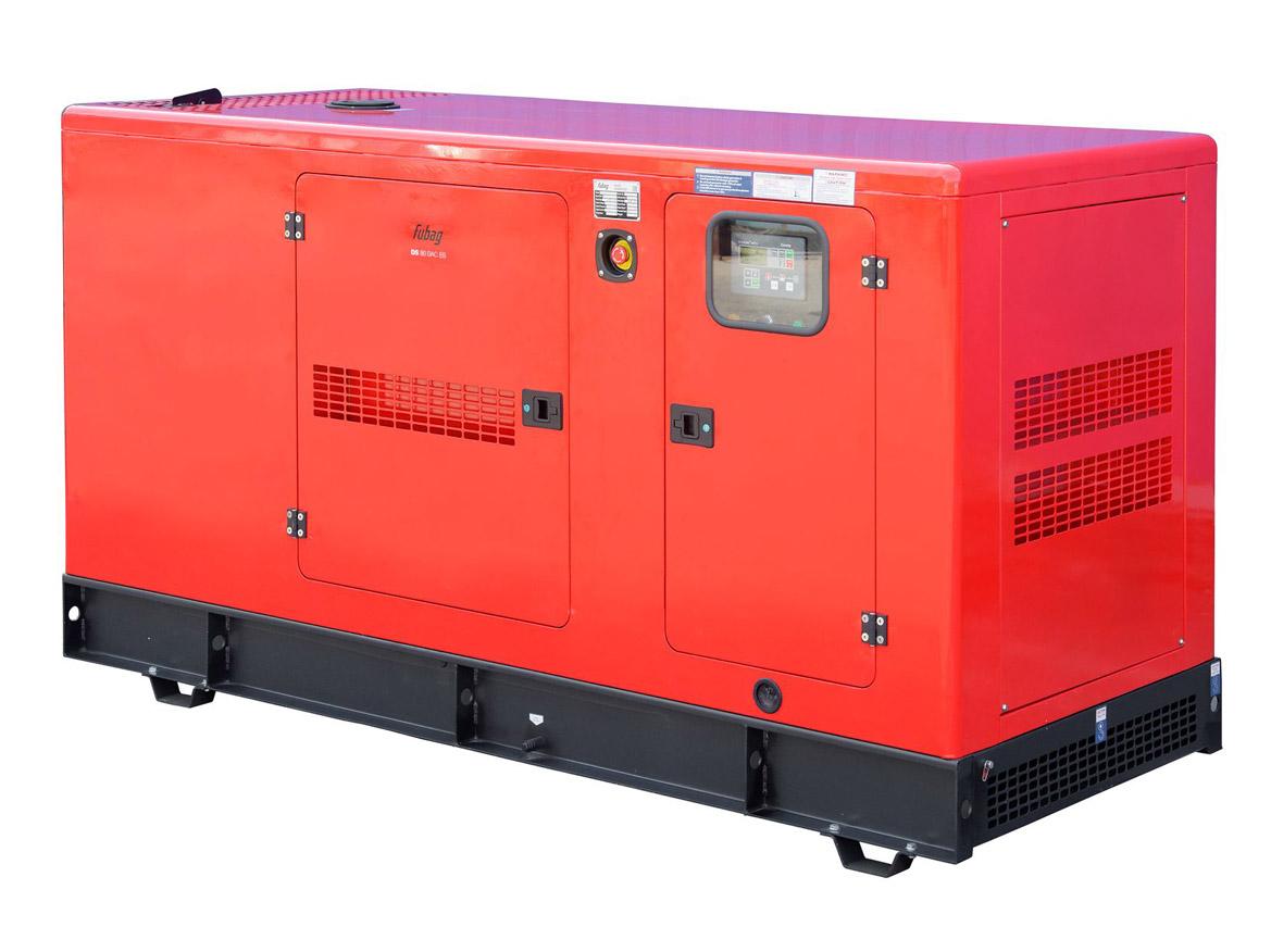 Дизельный генератор (электростанция) FUBAG DS 80 DAC ES