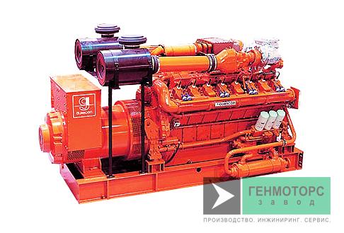 Газопоршневая электростанция (ГПУ) Guascor SFGLD240