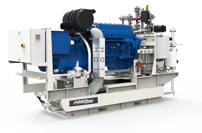 Газопоршневая электростанция (ГПУ) PowerLink GXE550-NG