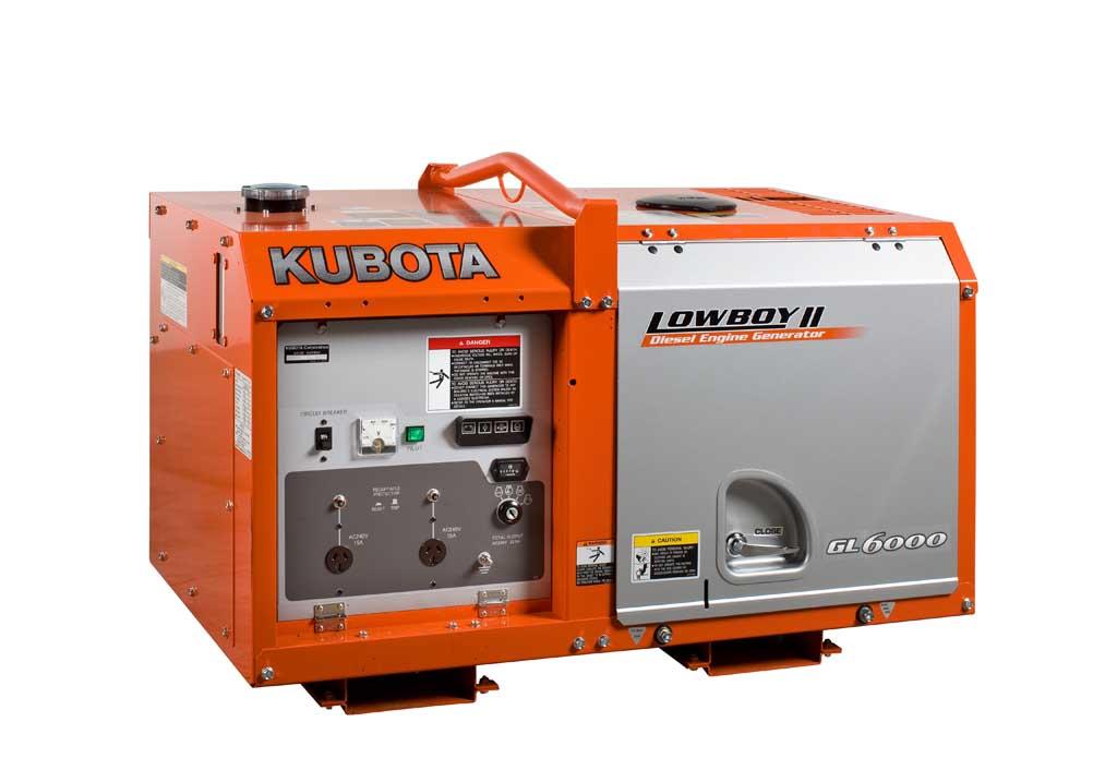 Дизельный генератор (электростанция) Kubota GL6000