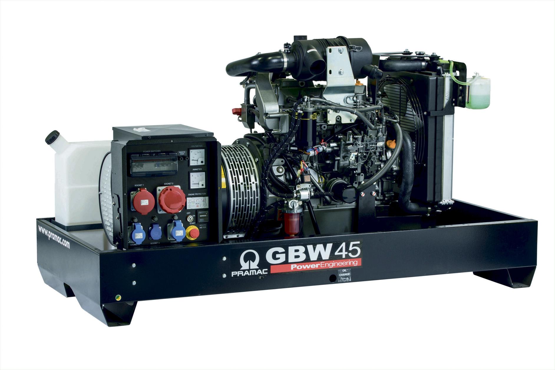 Дизельный генератор (электростанция) Pramac GBW45Y