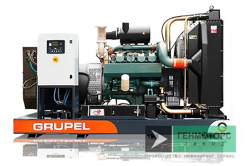 Дизельный генератор (электростанция) G130DSGR Grupel