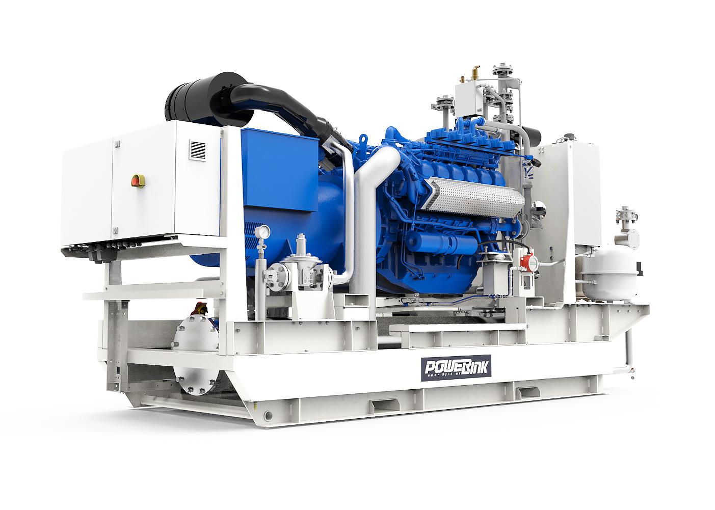Газопоршневая электростанция (ГПУ) PowerLink GXC350-NG
