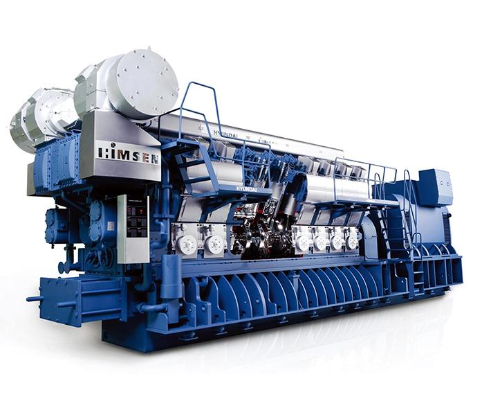 Газопоршневая электростанция (ГПУ) Hyundai HiMSEN 18H35DFV