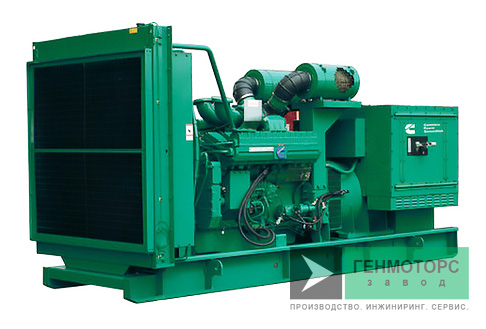 Дизельный генератор (электростанция) Cummins C1000D5