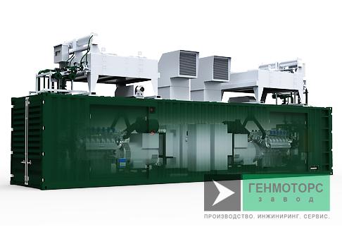 Газопоршневая электростанция (ГПУ) PowerLink PB500S-NG