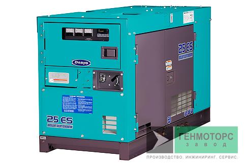 Дизельный генератор (электростанция) DENYO DCA-25ESK