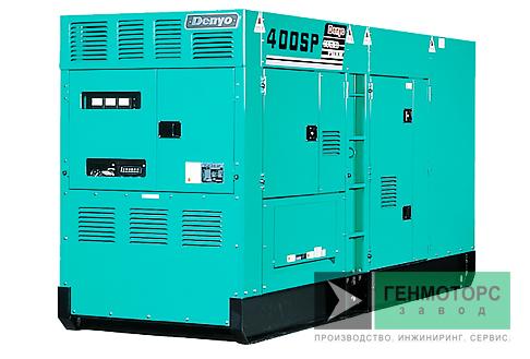 Дизельный генератор (электростанция) DENYO DCA-400SPK2