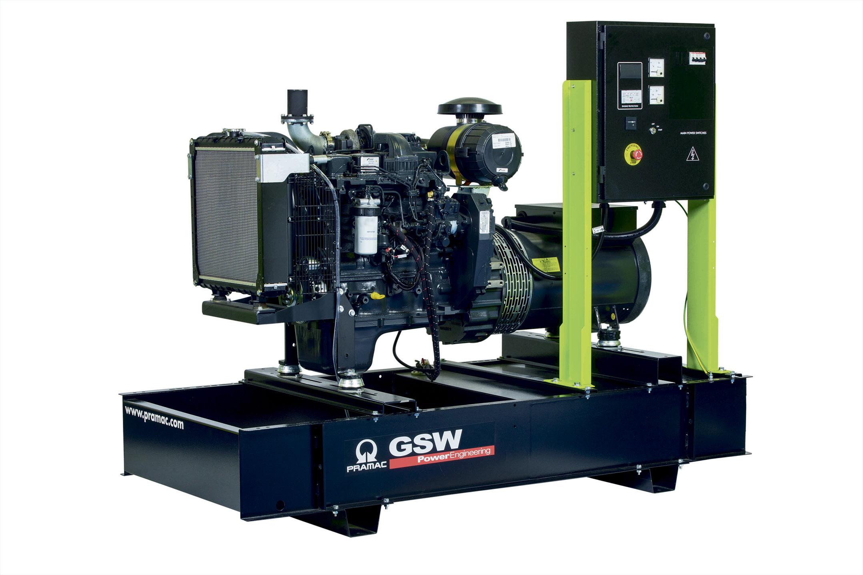 Дизельный генератор (электростанция) Pramac GSW80I
